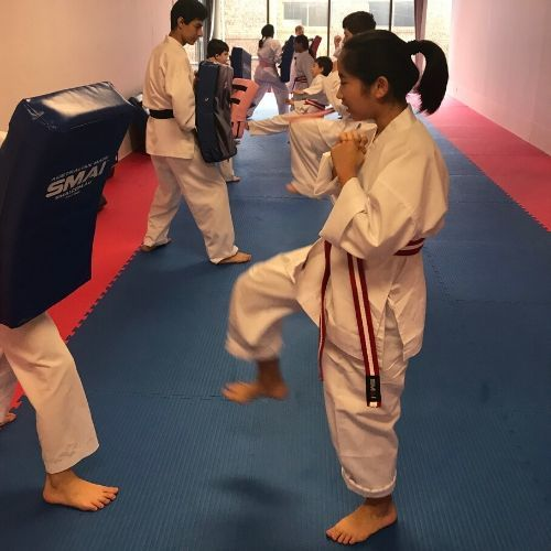 AKA Sydney Teens Karate program